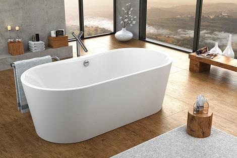 Некоторые удивительные факты об отдельно стоящих ваннах